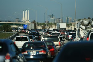 The most common cause of delay for motorists is other motorists.